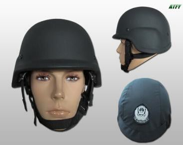 Bullet Proof EOD Equipment Kevlar Helmets Bulletproof Polyethylene Material