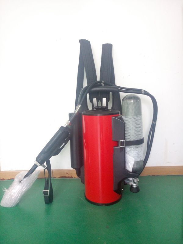 Ideal Rescue Water Fire Extinguisher , Backpack Water Spray Fire Extinguisher