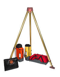 Reliable Earthquake Rescue Equipment Earthquake Rescue Tripod 16.5kg Weight